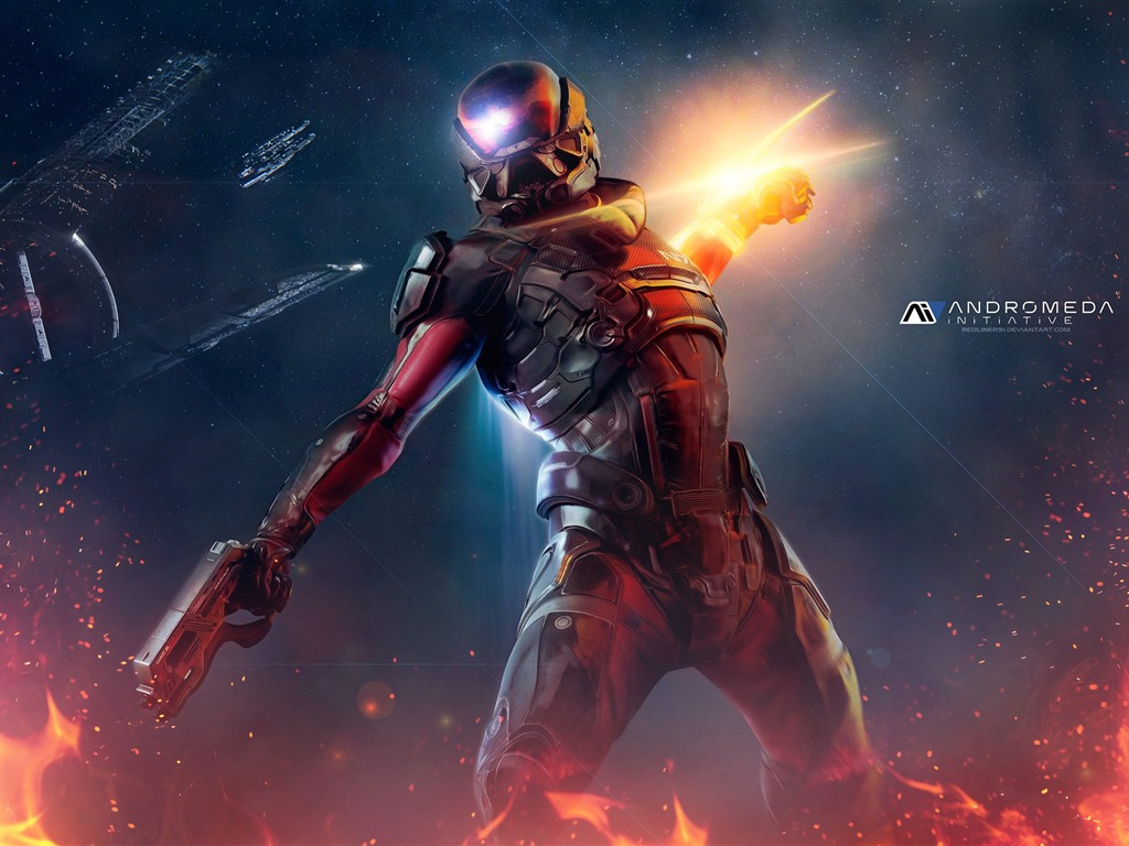 Mass Effect Andromeda 2017 Game Wallpaper 10 - 1024x768 wallpaper download