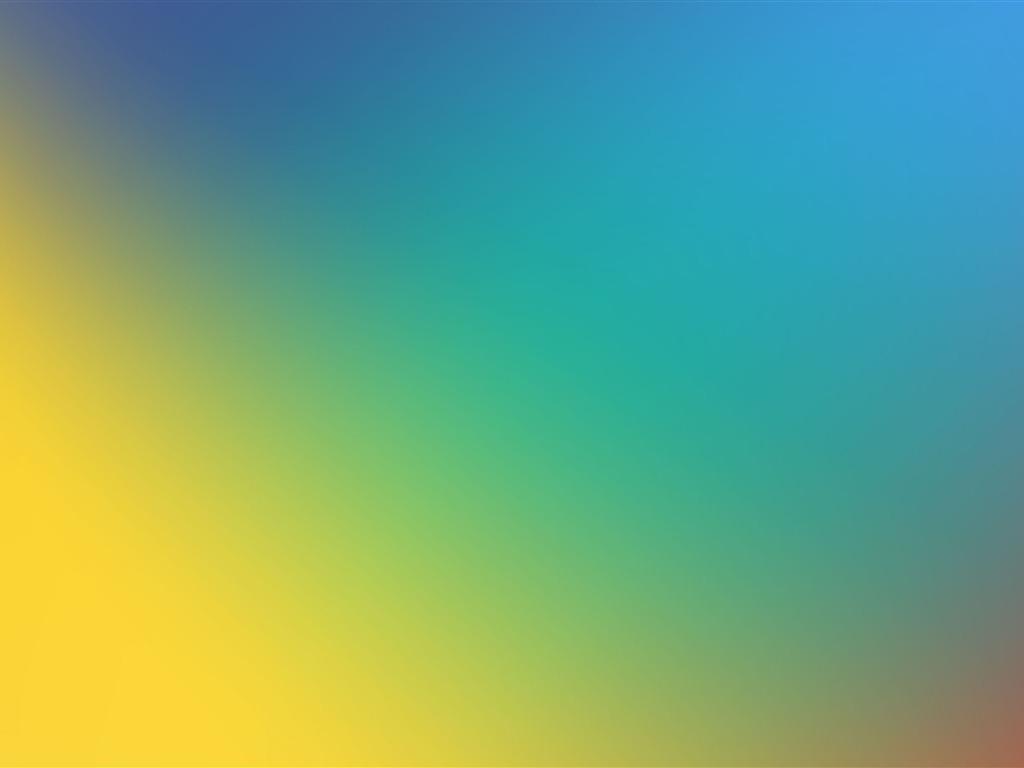 Arte abstracto azul degradado amarillo 4K Ultra HD Avance