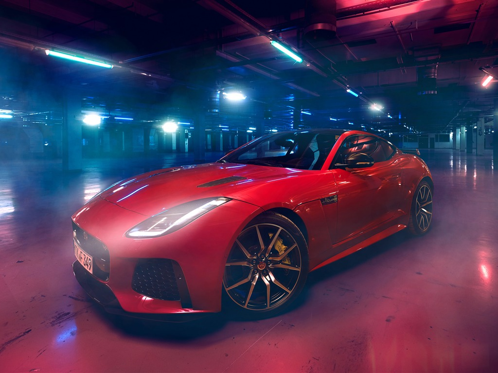 2019 Red Jaguar Luxury Brand Car Preview   10wallpaper.com