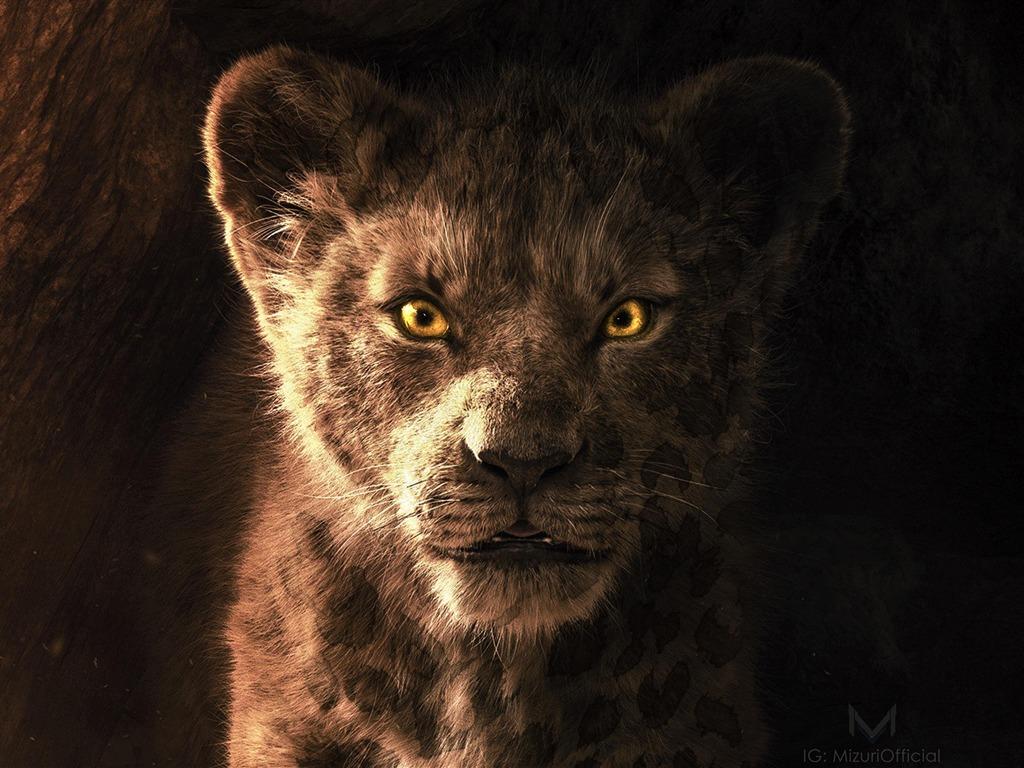 O Rei Le 227 O 2019 Simba Filme Poster Visualiza 231 227 O