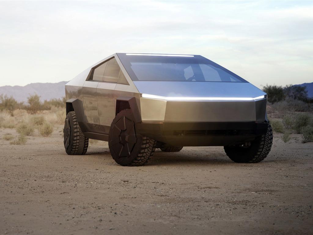 斯柯达旅行车_特斯拉,Cybertruck,2020,电动车,高清,海报预览 | 10wallpaper.com