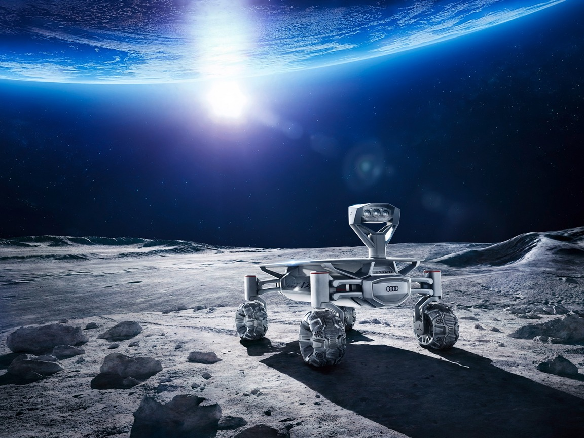 Audi moon rover hd-Universe HD Wallpaper - 1152x864 wallpaper download