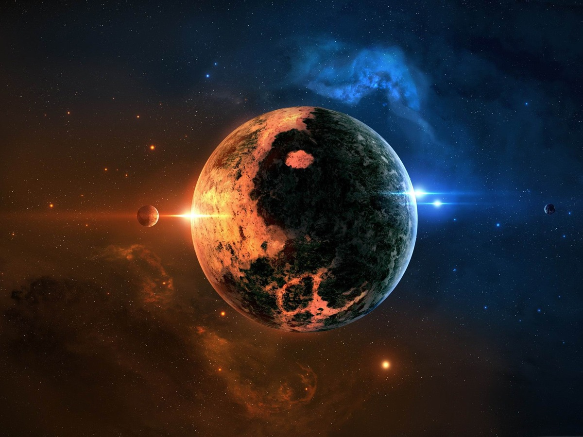 yin yang planet-Space exploration secret theme Desktop - 1200x900 ...