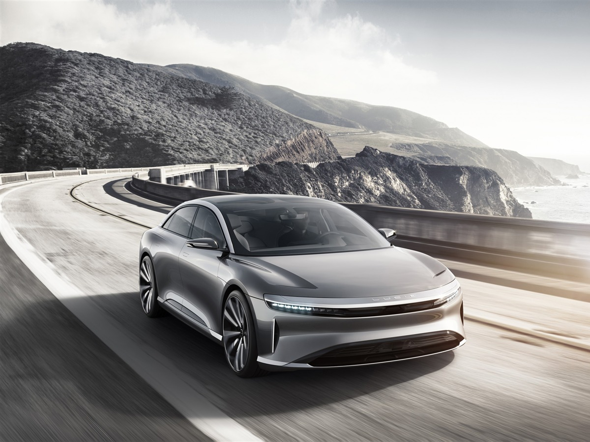 Lucid air luxury electric car-Brand Car HD Wallpaper - 1200x900 wallpaper download