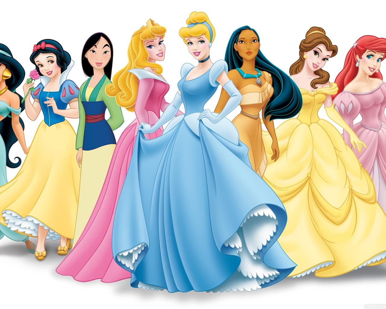 Disney Princess Personnages Disney Travaux Image De Bureau