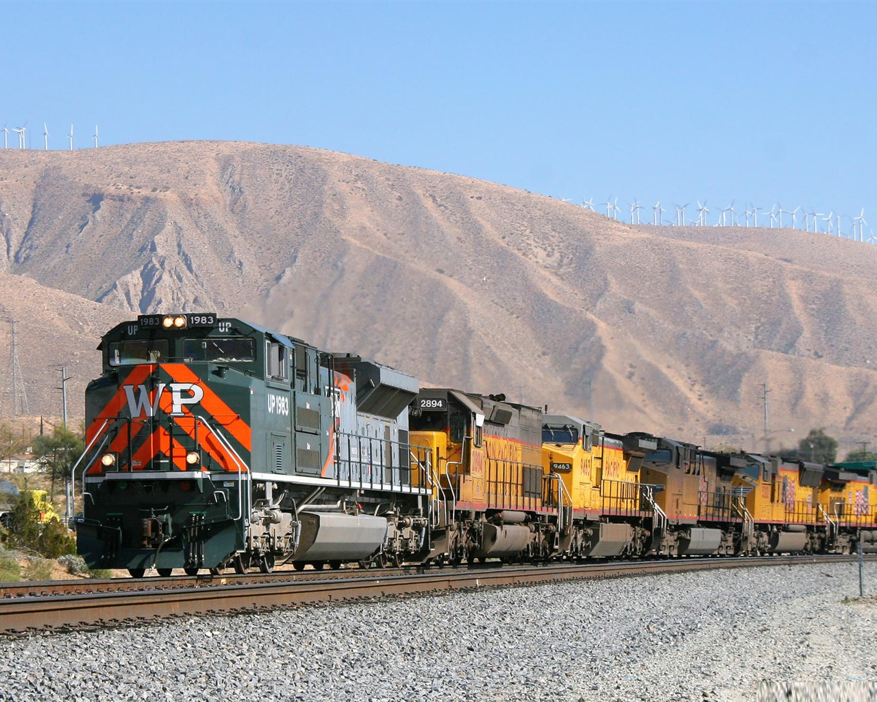 union pacific heritage locomotive 1983-Trains and Railway Series wallpaper Preview   10wallpaper.com