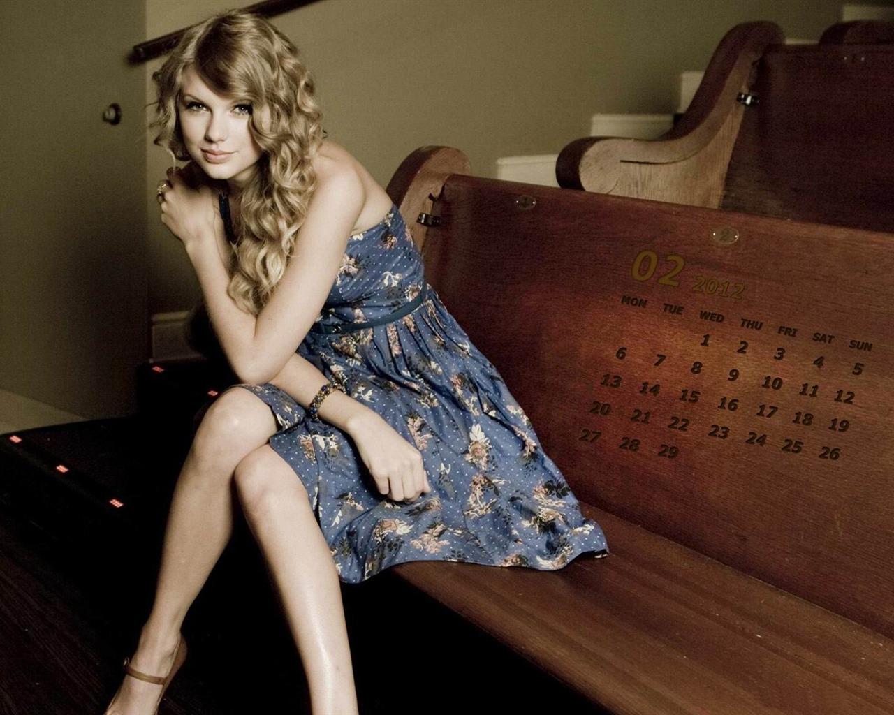 Taylor Swift 2012 Calendar Taylor Swift February 2012