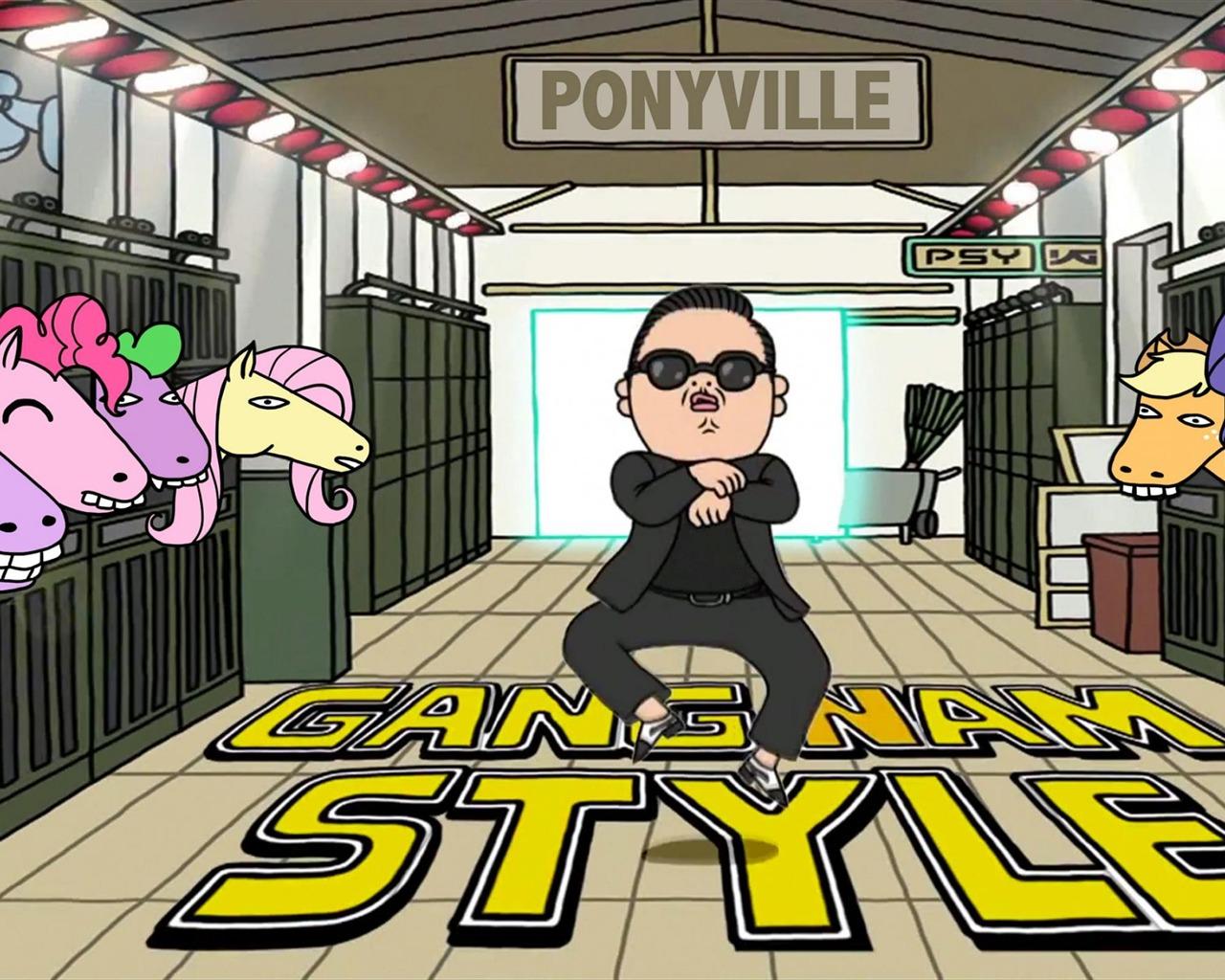 Oppa gangnam style cat meme