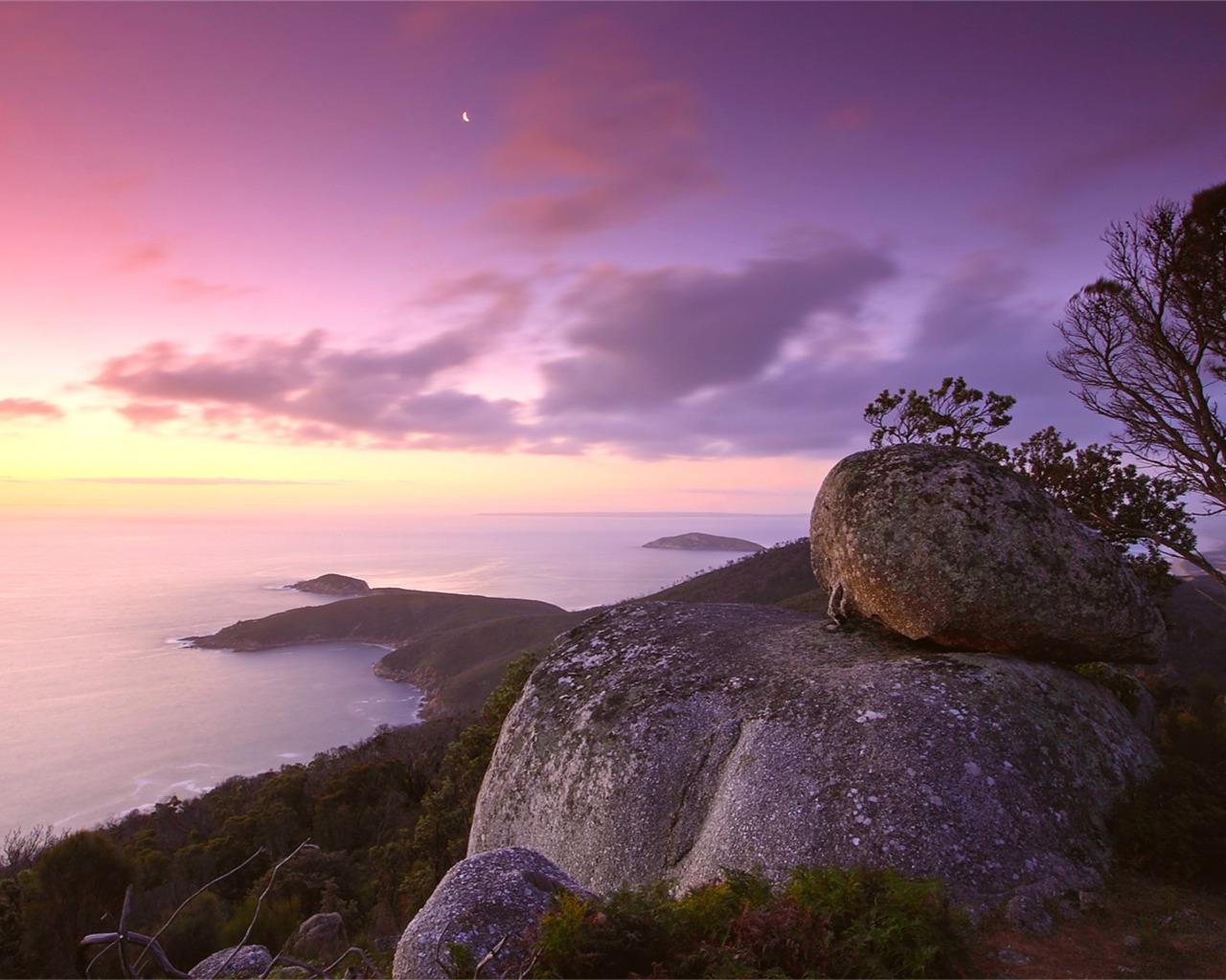 描述: 平静的海面海岸晚上-风景精选壁纸 当前壁纸尺寸: 1280 x 1024图片