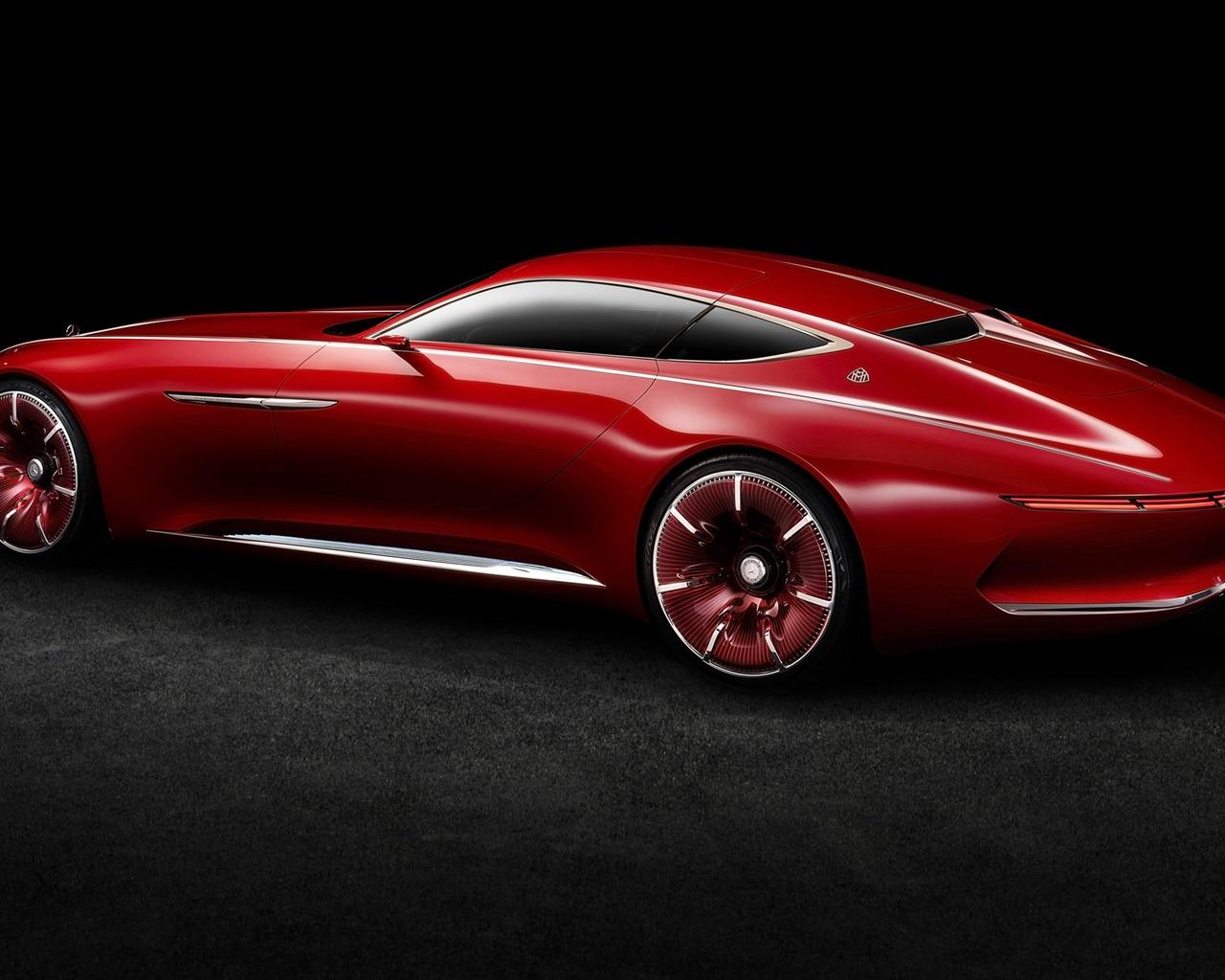 Mercedes Amg Gtr >> 2016 视觉梅赛德斯·迈巴赫6概念车高清桌面壁纸预览 | 10wallpaper.com