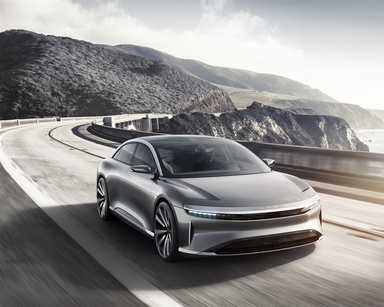 Lucid air luxury electric car-Brand Car HD Wallpaper - 1280x1024 wallpaper download