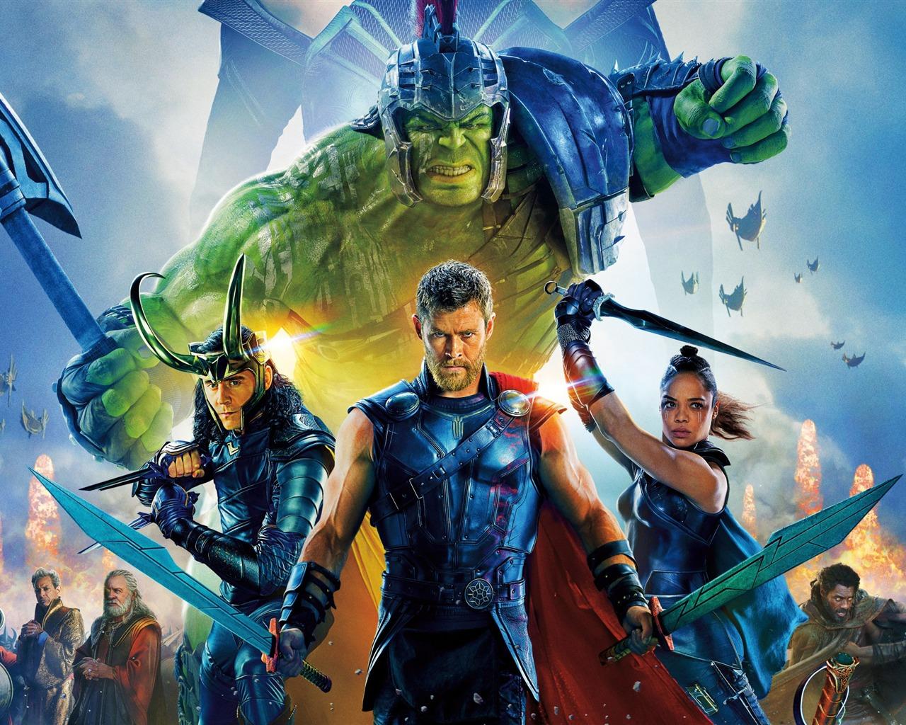雷神3:诸神黄昏 Thor: Ragnarök高清壁纸预览 | 10wallpaper.com