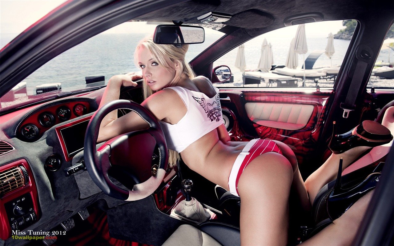 mandy lange 2012 german tuning car models sexy lady hd wallpaper 05 1280x800 download. Black Bedroom Furniture Sets. Home Design Ideas