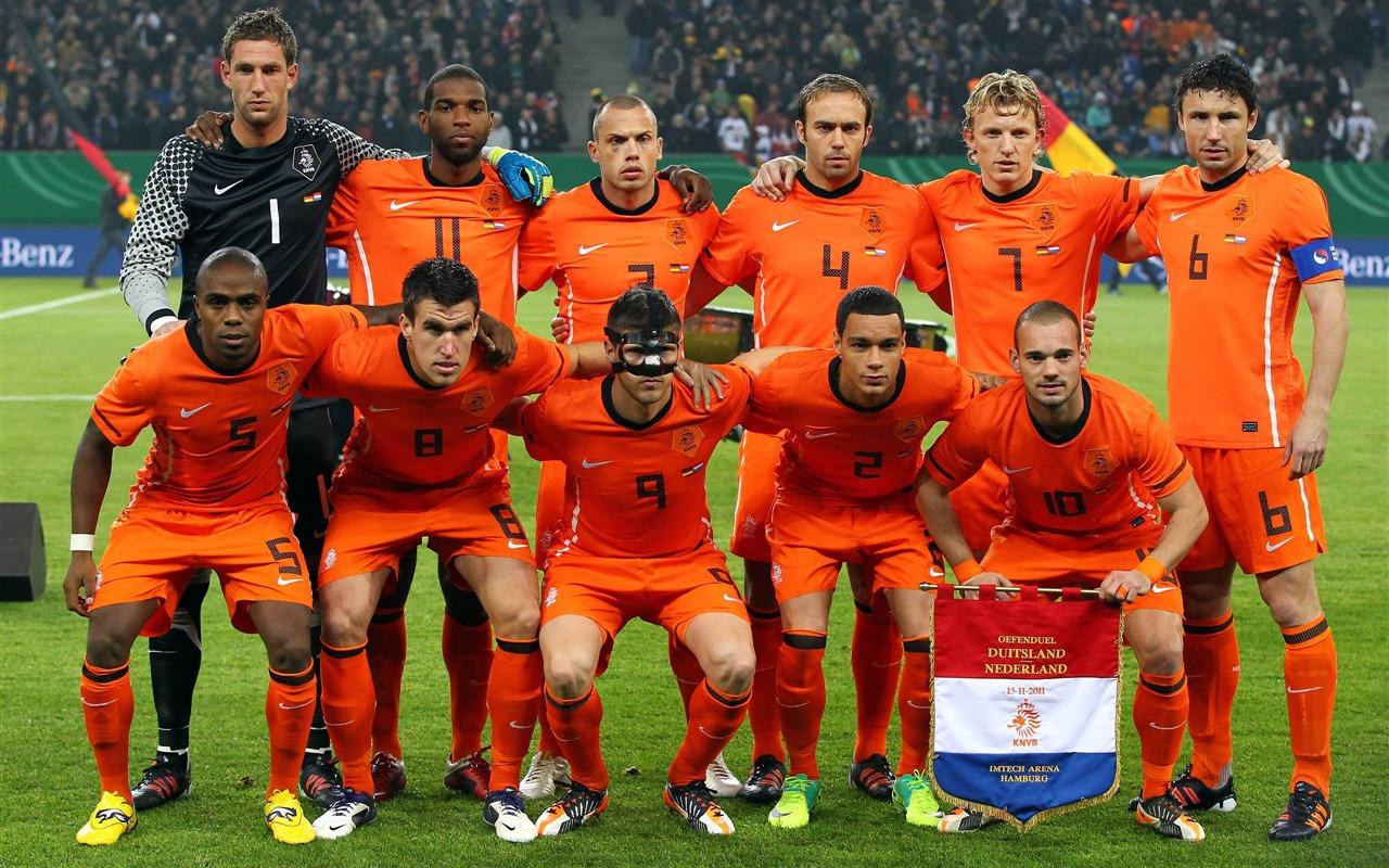 描述: 荷兰足球队-euro 2012欧洲杯壁纸 当前壁纸尺寸: 1280 x 800图片