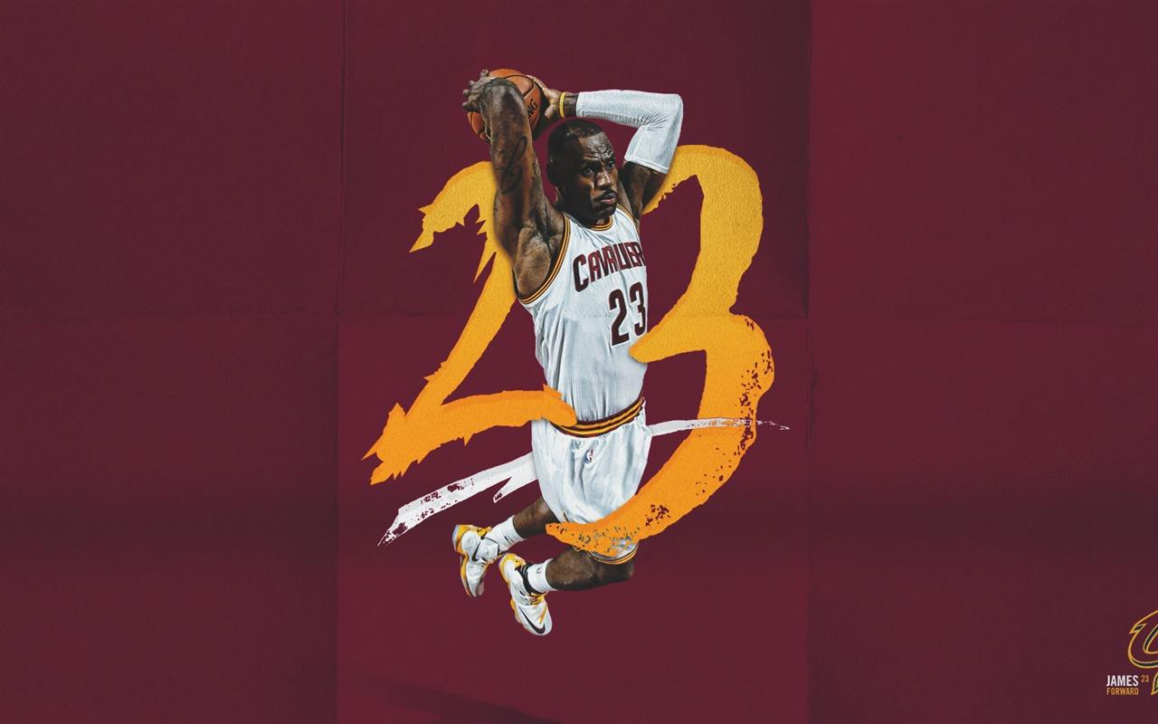 勒布朗·詹姆斯 NBA 2017年克利夫兰骑士壁纸预览 | 10wallpaper.com