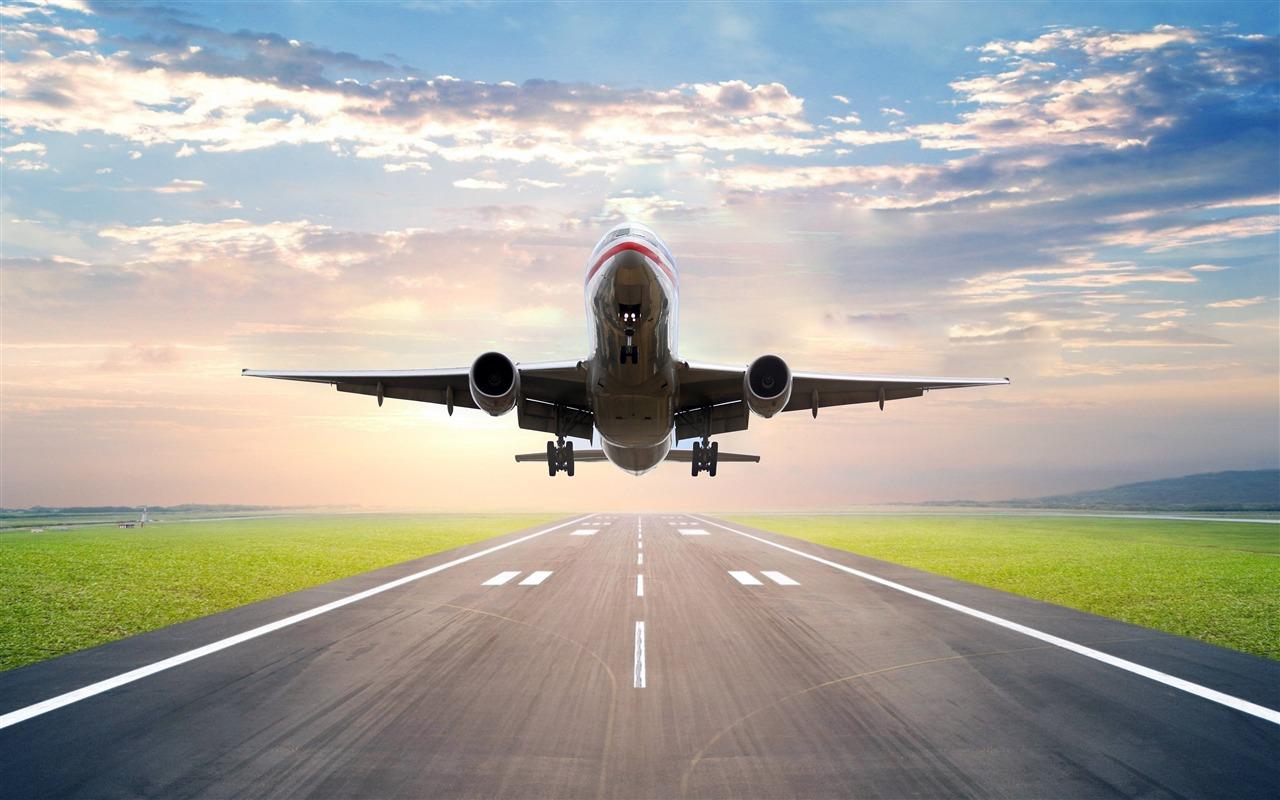 颁奖_民航飞机,起飞,跑道,照片预览 | 10wallpaper.com