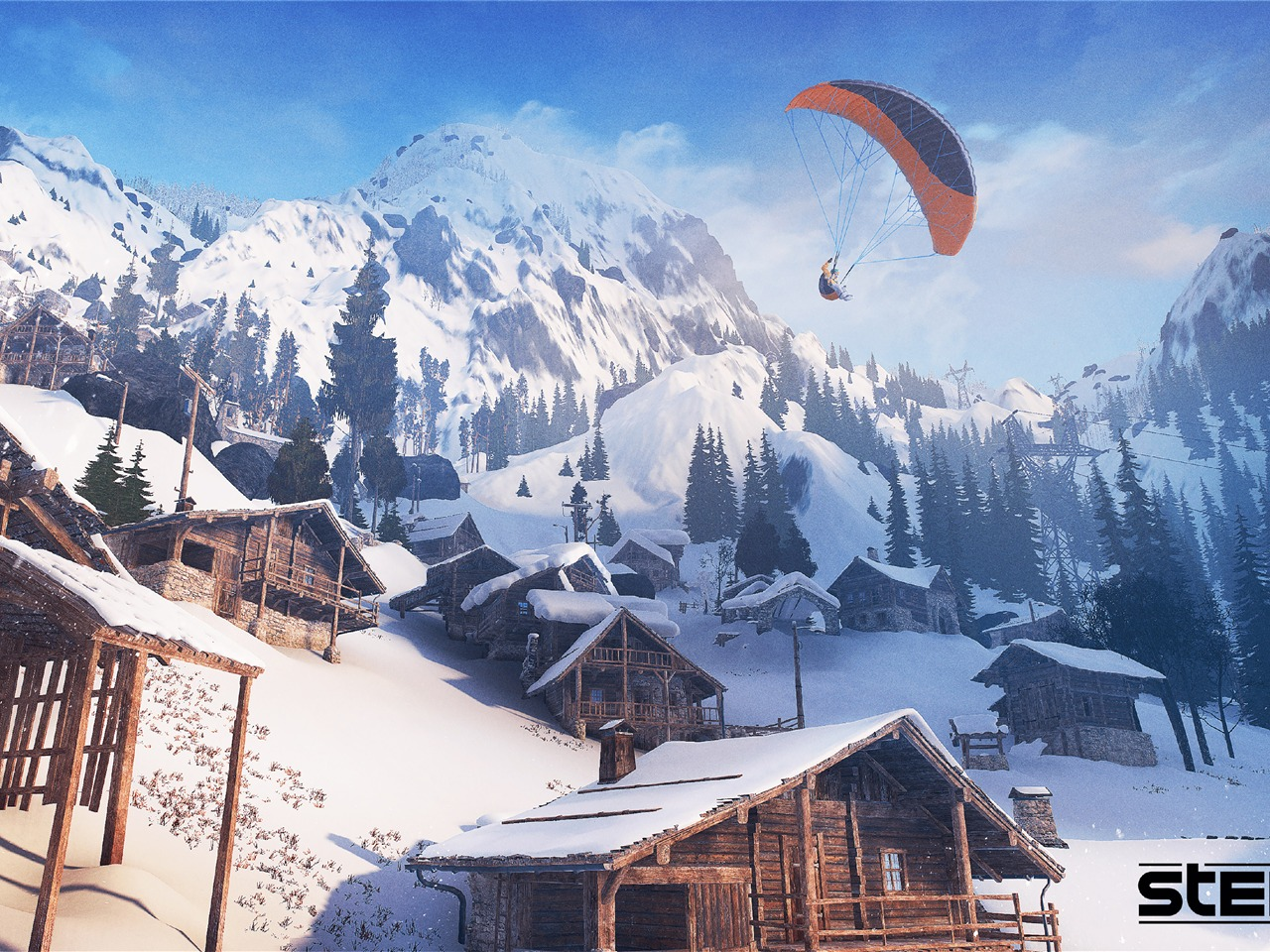 Steep Game 4K Ultra HD - 1280x960 wallpaper download