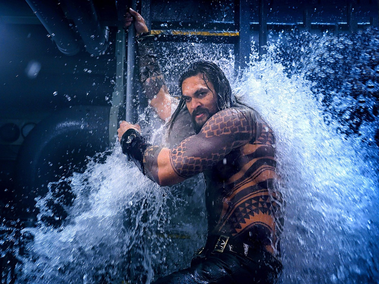 2018 Movie Posters: Aquaman Jason Momoa 2018 Movie Poster Preview