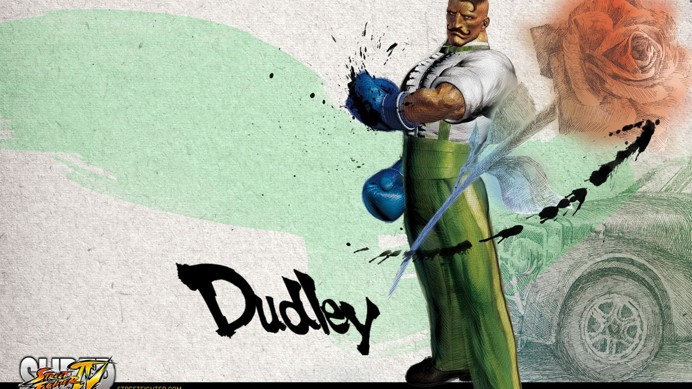 Dudley-Super_Street_Fighter_4_original_painting_wallpaper