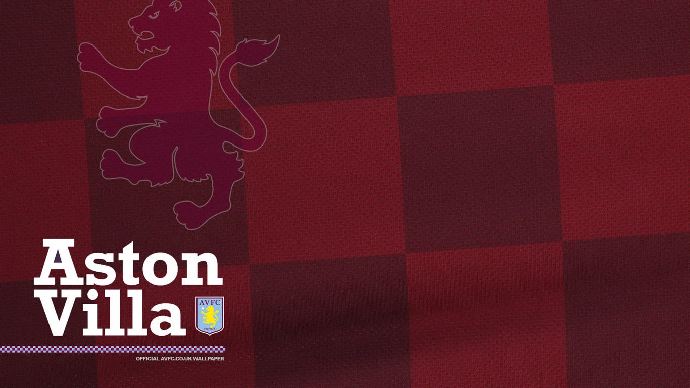 Aston Villa Football Club Desktop Wallpaper 17-1366x768