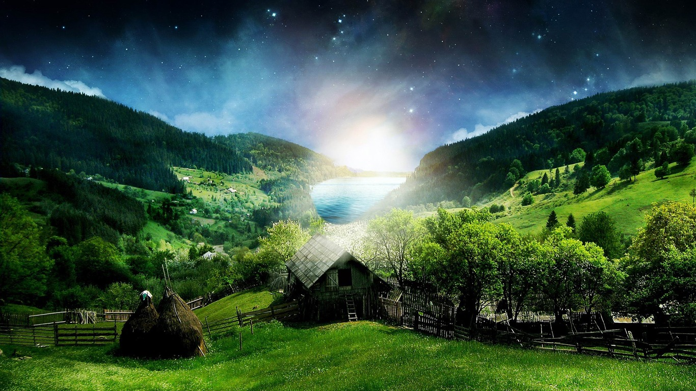 beautiful_landscape-Creative_Design_Wallpaper