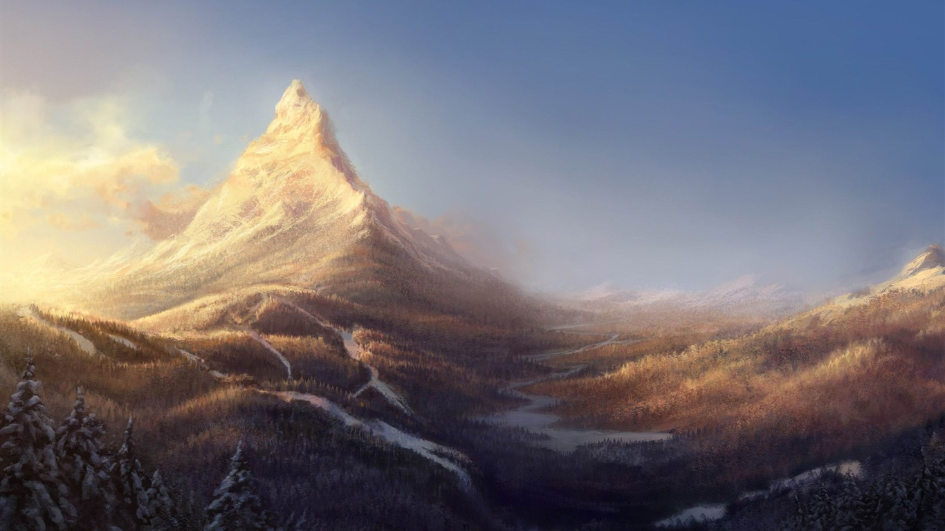 winter_mountain_painting-World_of_fantasy_art_design_HD_wallpaper2012.2.19