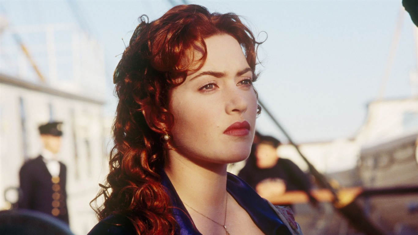 Kate Winslet-Titanic 3D high-definition movie Wallpapers 10-1366x768 Download | 10wallpaper.com