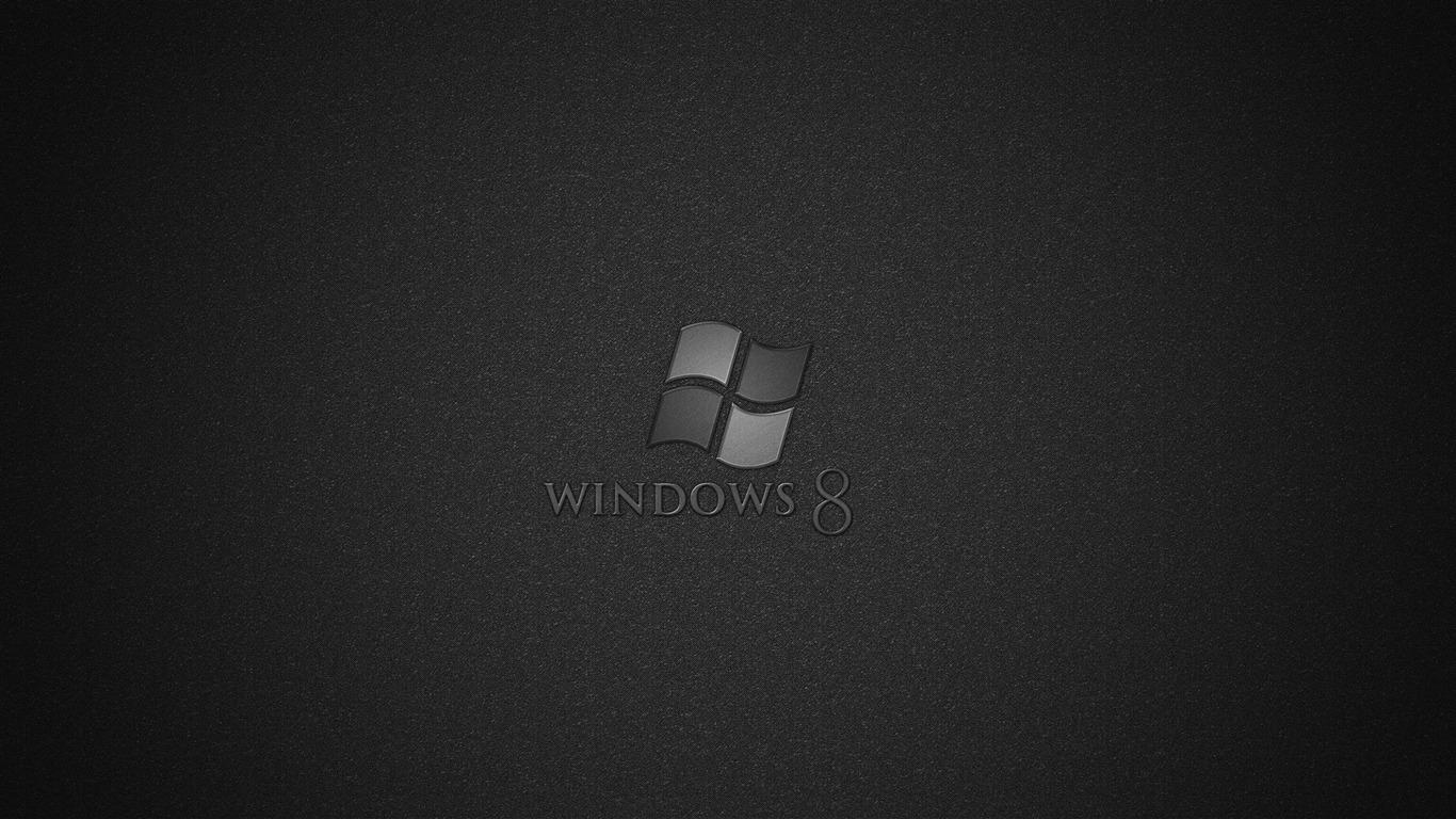 黒 Microsoft Windowsの8システムの壁紙プレビュー 10wallpaper Com