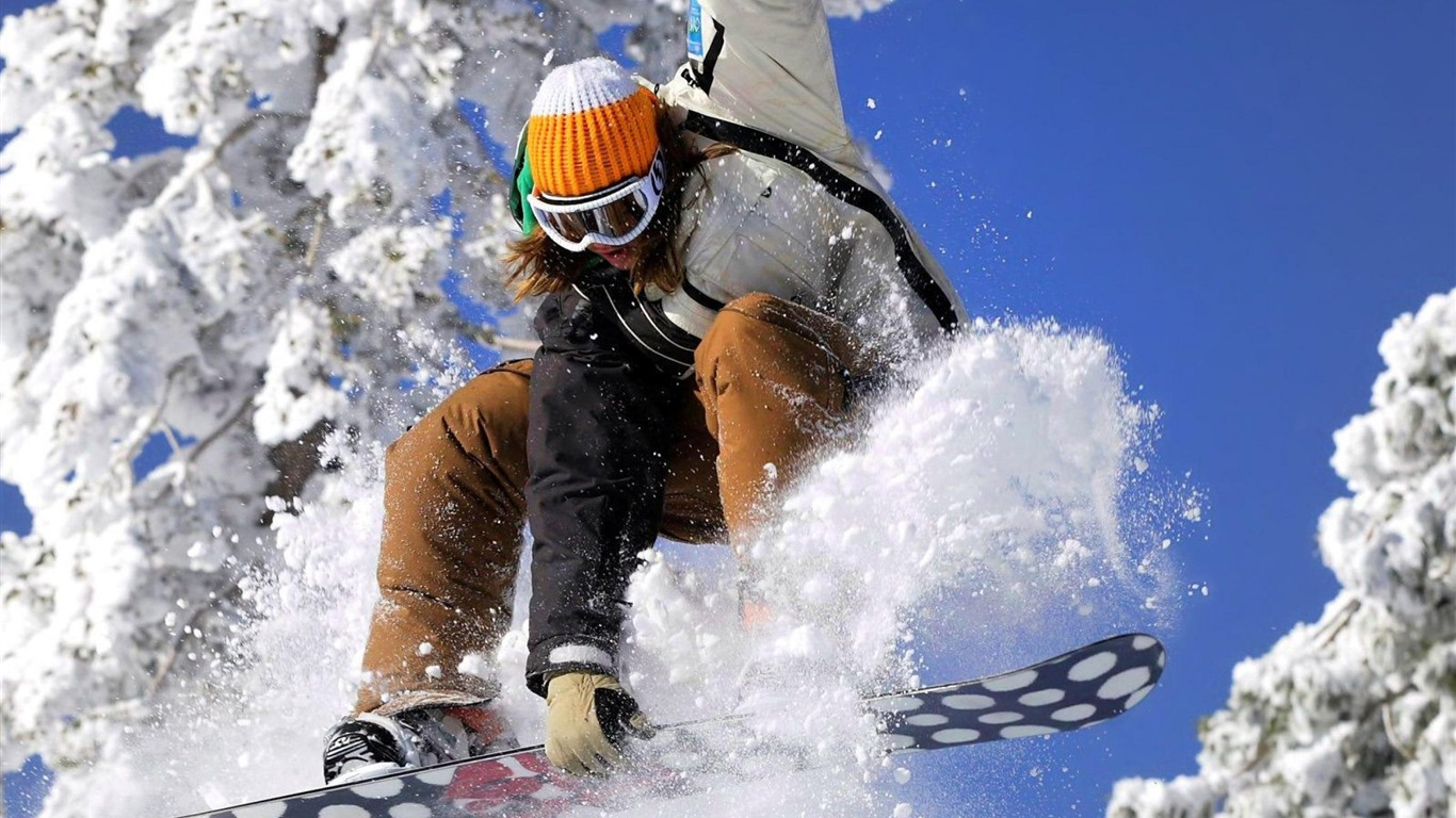 Outdoor Sports Wallpaper 24 Wallpapers: Ski Girl-Outdoor Sports Wallpaper View