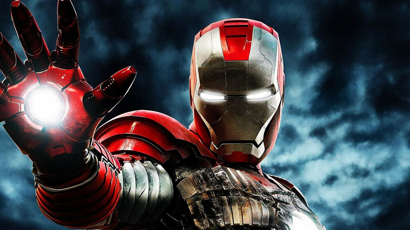 2013 Iron Man 3 Movie Hd Desktop Wallpaper 01 1366x768 Wallpaper