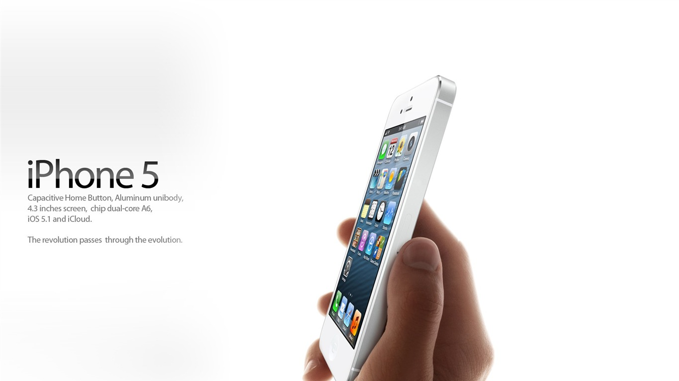 Apple Iphone 5 Latest Official Hd Desktop Wallpapers 15