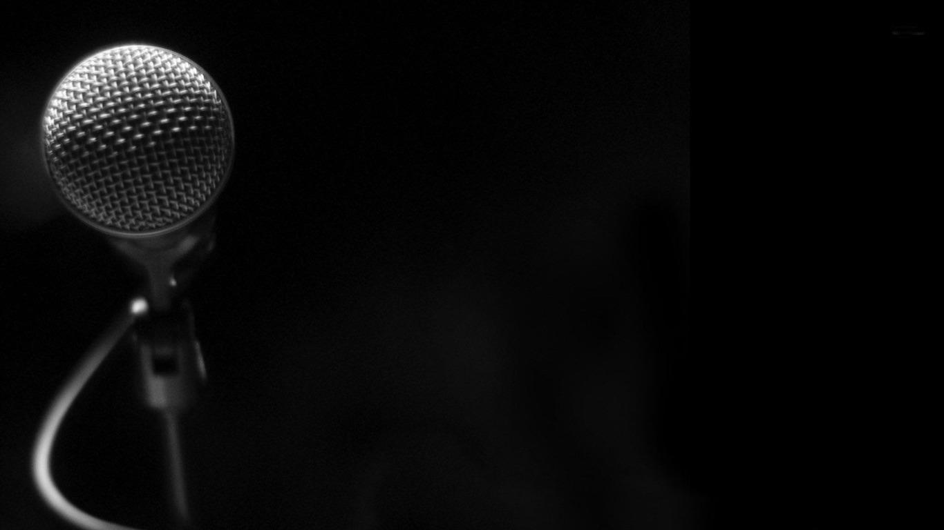 Microphone Fonds D Ecran Theme De La Musique Apercu 10wallpaper Com
