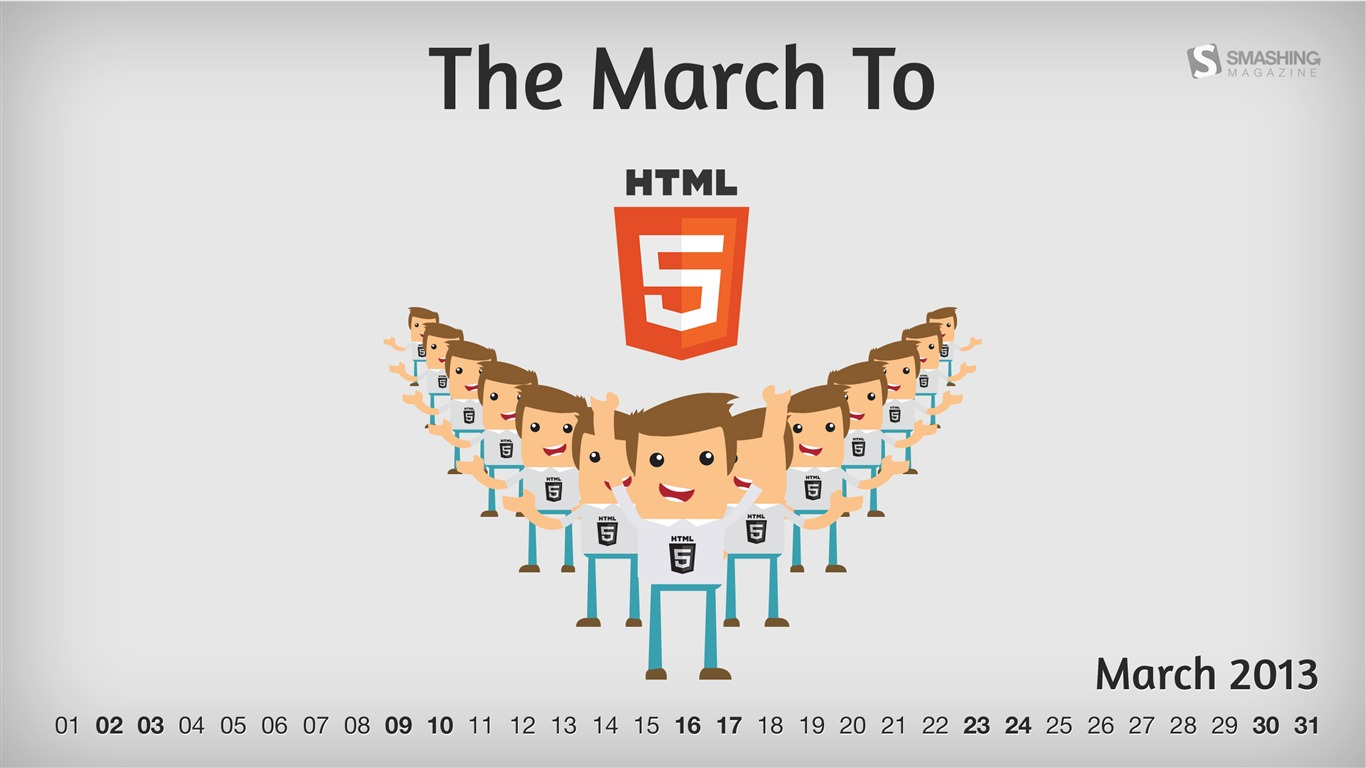 HTML5_March-March_2013_calendar_desktop_themes_wallpaper