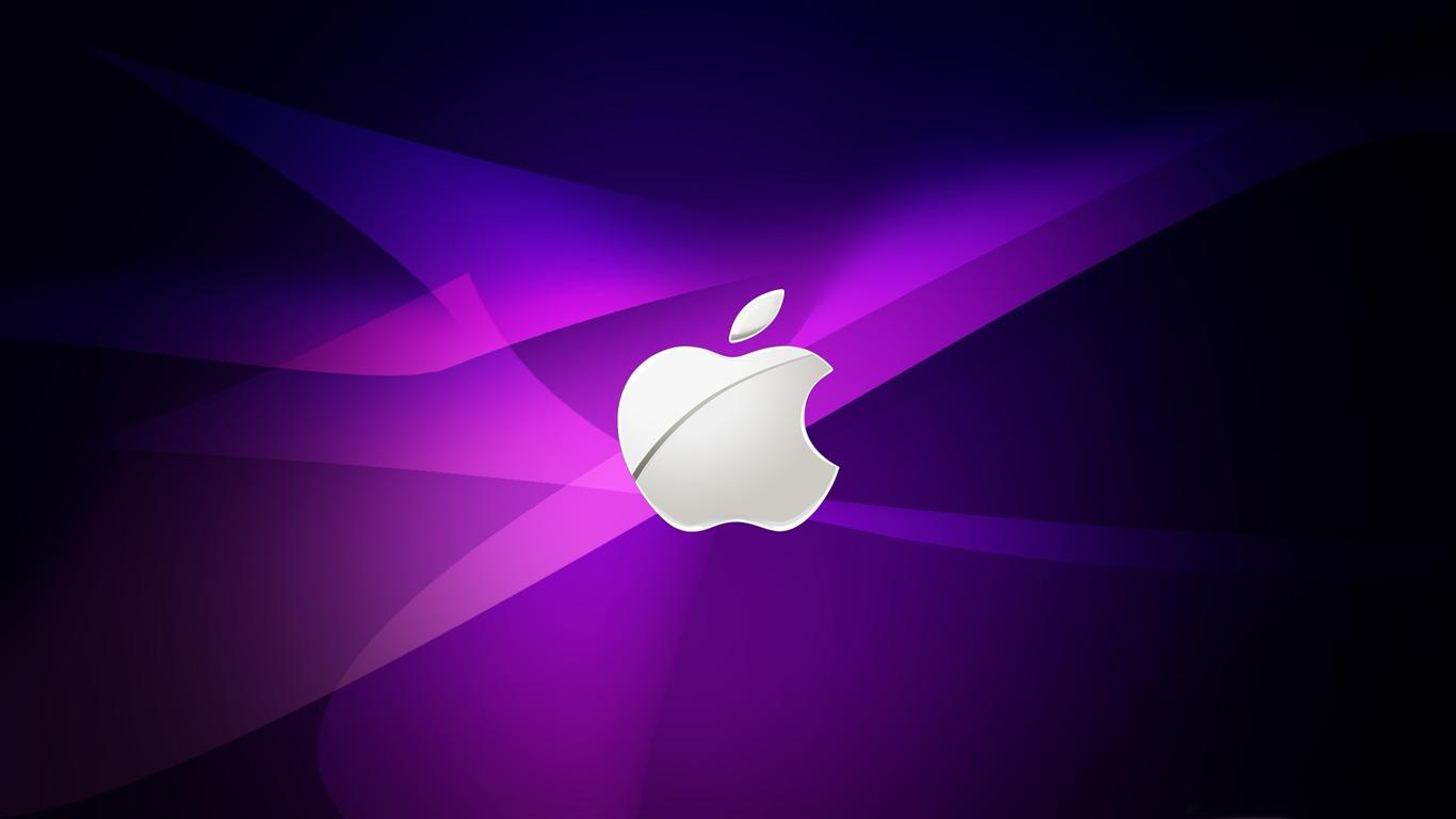 Apple purple publicit marque fond d 39 cran aper u for Fond ecran marque