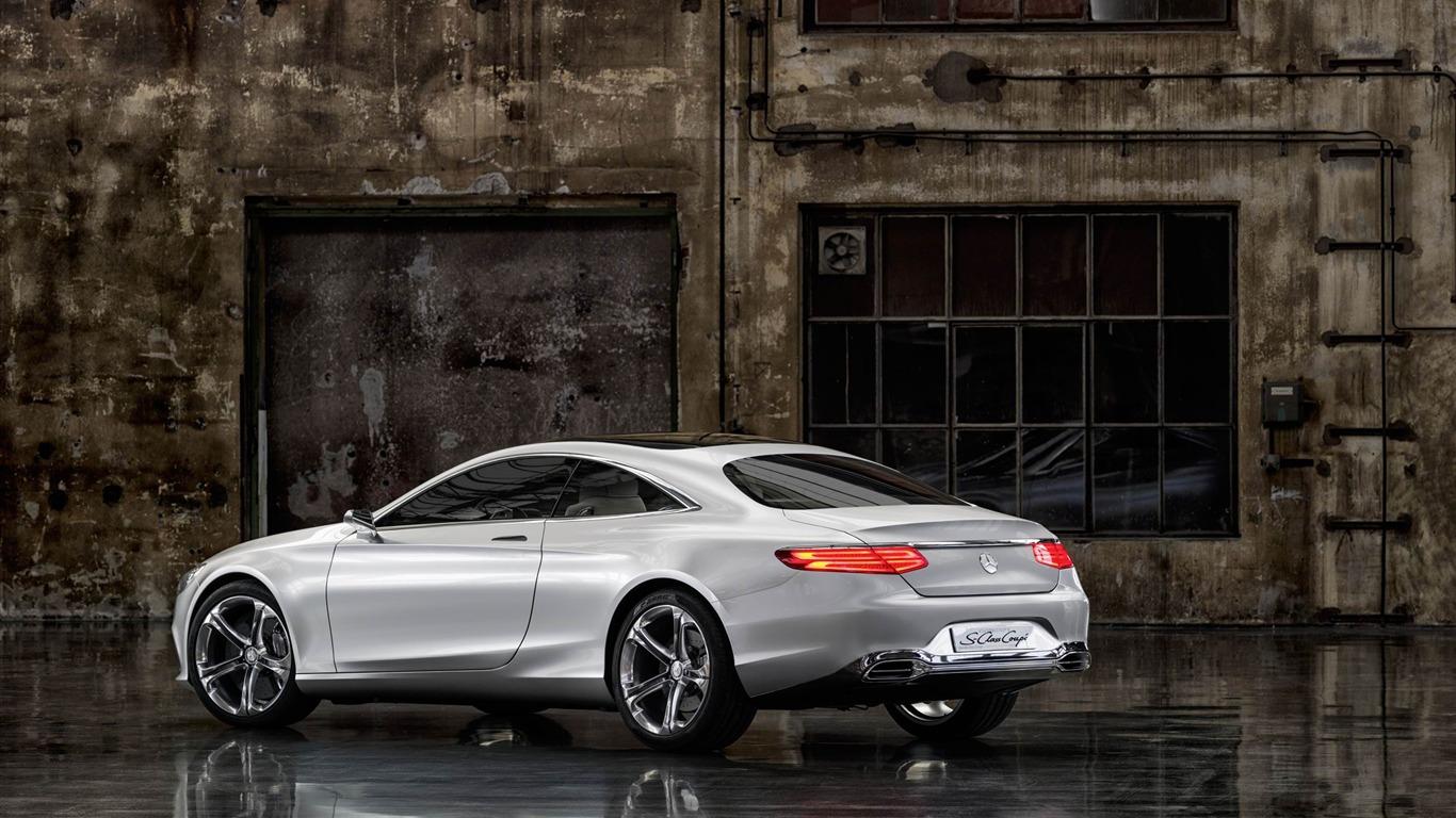 欧宝suv_梅赛德斯-奔驰S级Coupe概念车2013汽车高清壁纸预览   10wallpaper.com