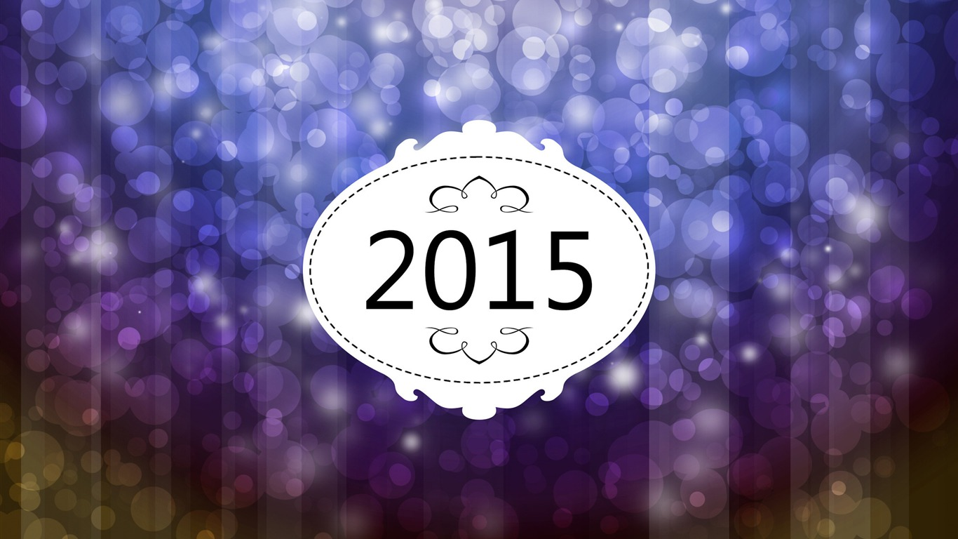 Happy new year 2015 th me fonds d 39 cran aper u for Theme d ecran