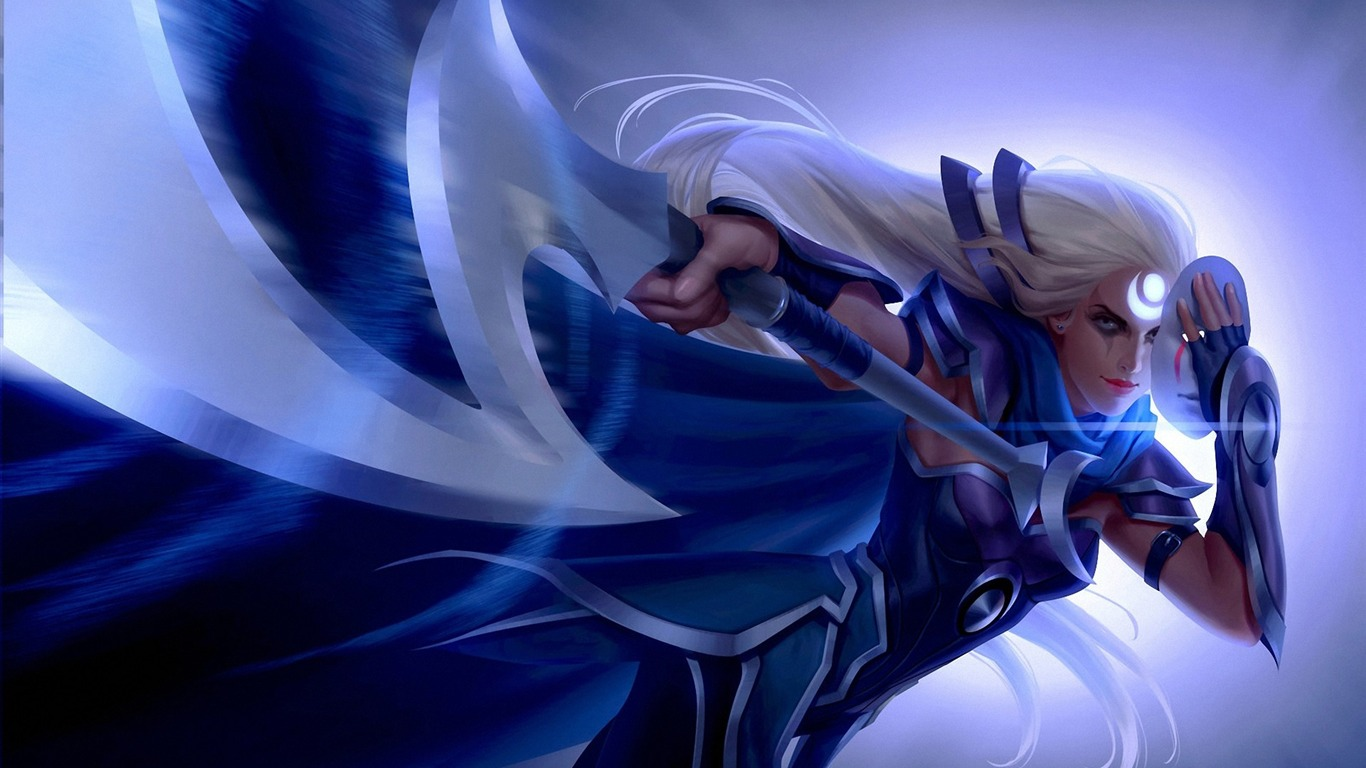 Diana League Of Legends High Quality Hd Wallpaper Preview