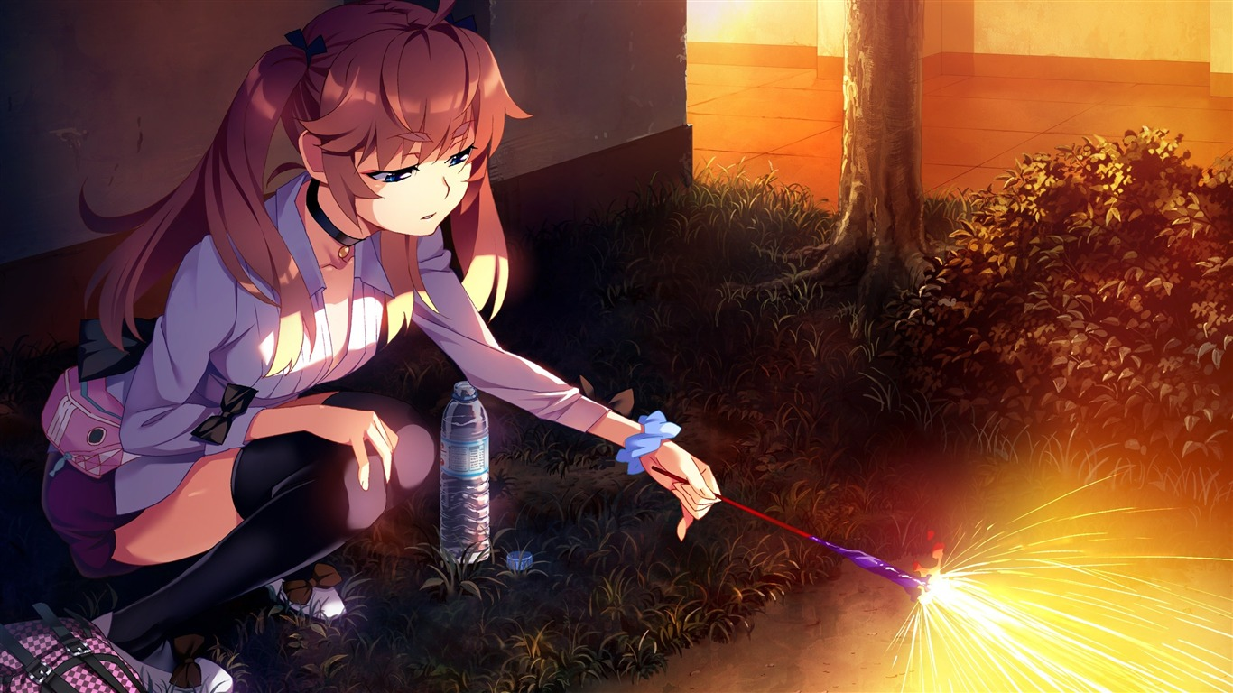 anime_girl_fireworks-High_Quality_HD_Wallpaper