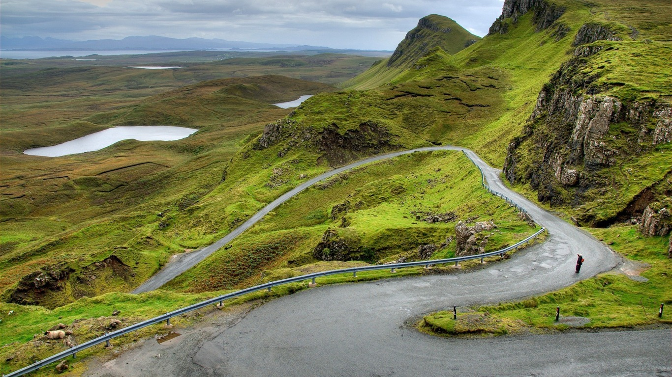 Mountains_scotland_road_bends-scenery_HD_Wallpaper