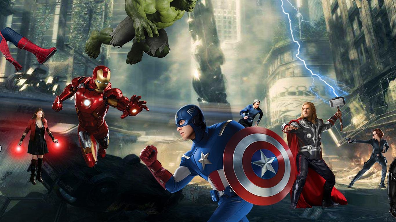 电影高清壁纸_美国队长3 captain america:civil war 2016 电影高清壁纸
