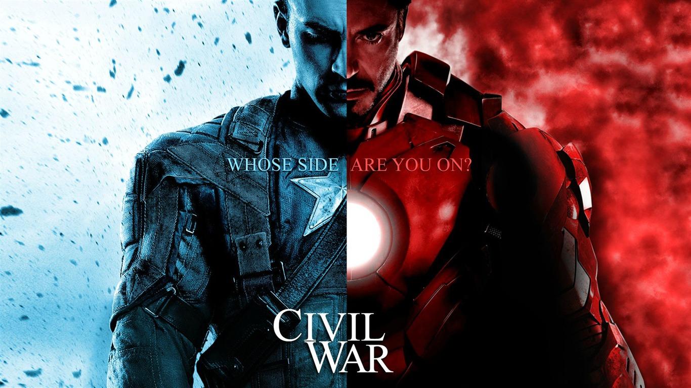 美国队长3 captain america:civil war 2016 电影高清壁纸