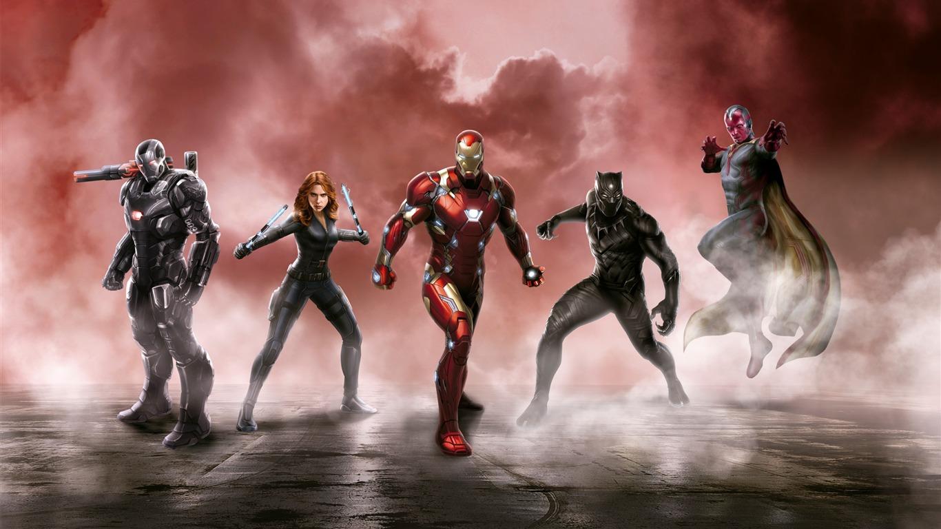 Captain America Civil War Cast Movies Posters Hd Wallpaper Preview