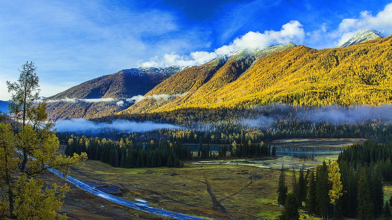 Kanas Lake Xinjiang China Travel Photo Fondo De Pantalla Hd