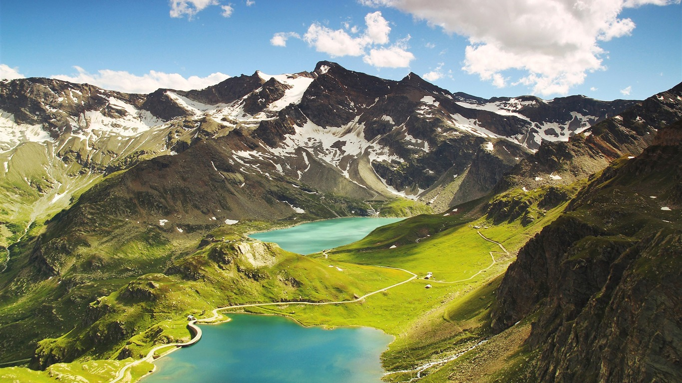 Agnel_lake_ceresole_reale-High_Quality_HD_Wallpaper