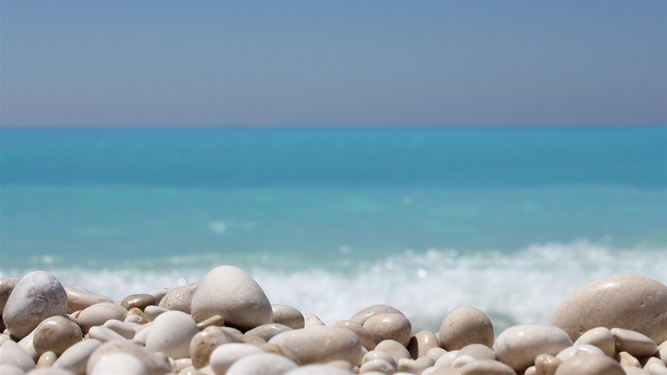 Piedras En La Playa Macro Hd Retina Wallpaper Avance