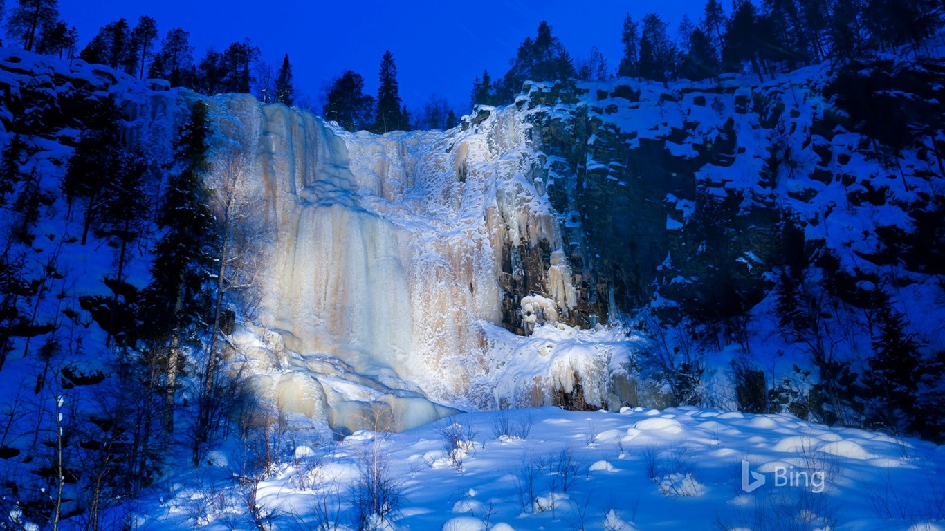 Finland_A_frozen_waterfall_in_the_Korouoma_Gorge-2016_Bing_Desktop_Wallpaper
