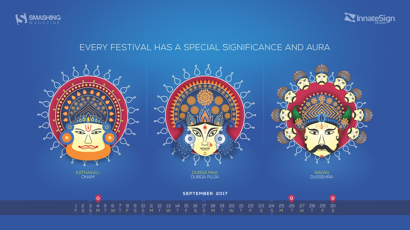 September_Festivals_In_India-September_2017_Calendar_Wallpaper