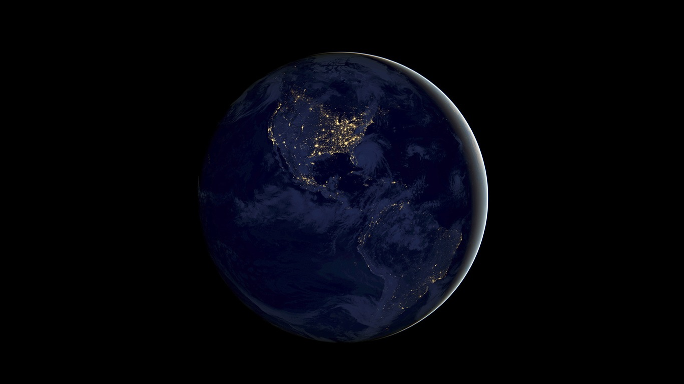 Earth_night-Apple_iOS_11_iPhone_8_iPhone_X_HD_Wallpapers