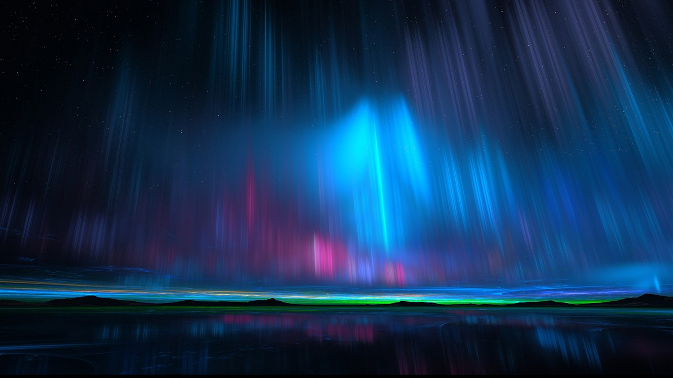 Northern_Aurora_Rays_Night-High_Quality_Wallpaper