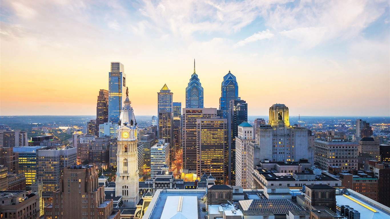 Philly_skyscrapers-Cities_HD_Wallpaper